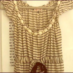 Rebecca Taylor B&W Silk Dress